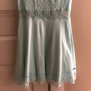 Abercrombie lace mini dress
